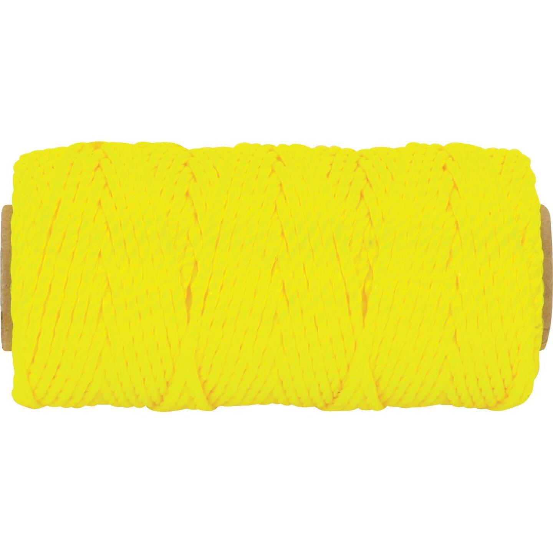 Do it 100 Ft. Fluorescent Yellow Twisted Nylon Mason Line Image 2