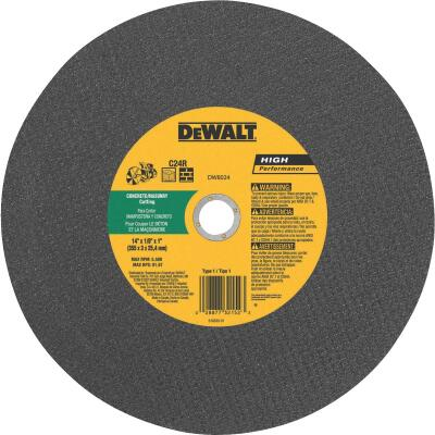 DeWalt HP Type 1, 14 In. Cut-Off Wheel