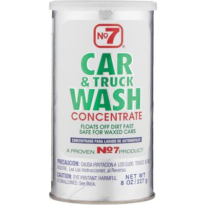 NO. 7 Liquid Concentrate 8 oz Car Wash