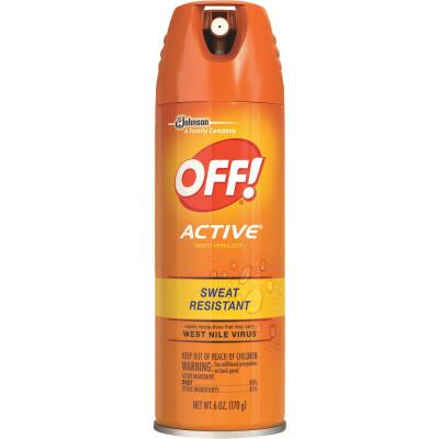 Off Active 6 Oz. Insect Repellent Aerosol Spray