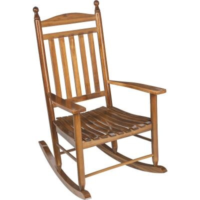 Knollwood Natural Wood Rocking Chair